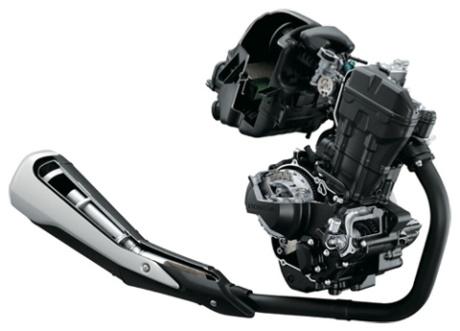 engine honda CBR250R