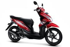 Honda Beat Fi 110 cbs-electro-red