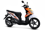 Honda Beat Fi 110 cbs-samba-orange