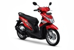 Honda Beat Fi 110 electro-red