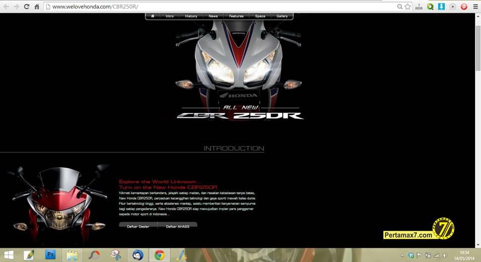 Honda CBR250R 2014 Dual keen eye