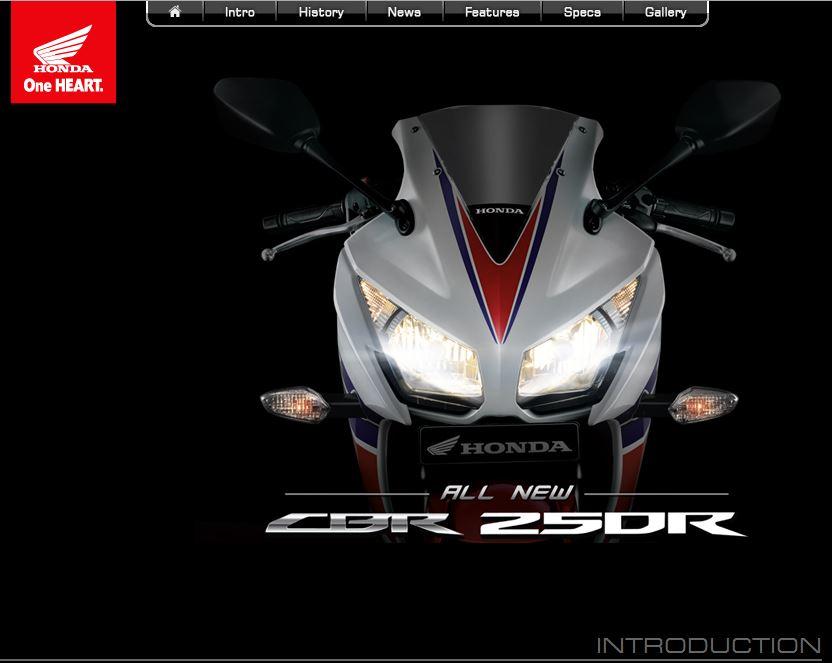Honda CBR250R dual keen eyes 2014