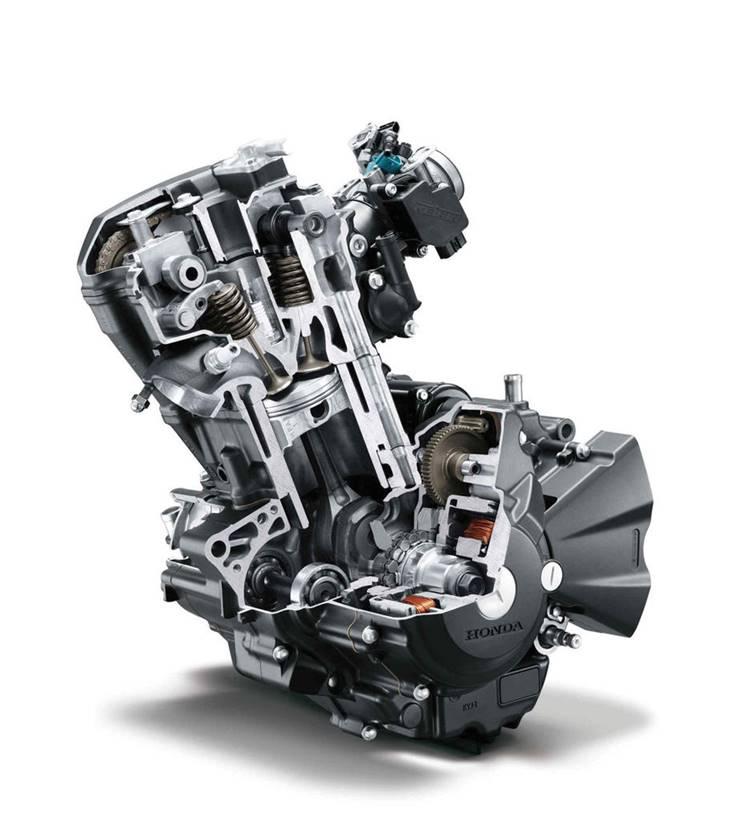 Honda-CBR250R-Engine