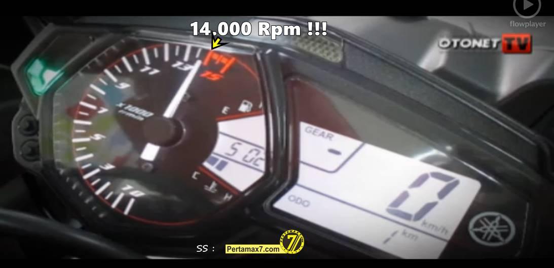 limiter yamaha YZF-R25 tembus 14.000 Rpm