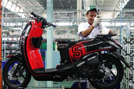New Honda Scoopy FI dengan Answer Bac System 2
