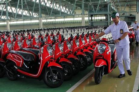 New Honda Scoopy FI dengan Answer Bac System 4