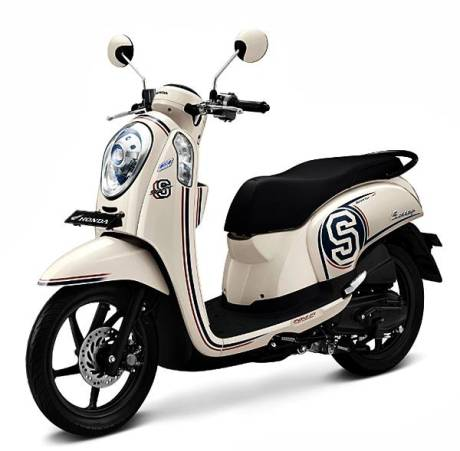 New Honda Scoopy FI dengan Answer Bac System 5