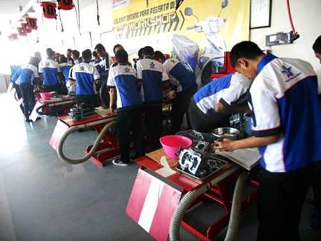 Pelatihan Otomotif Sepeda Motor Gratis dari Yamaha  dscn2518