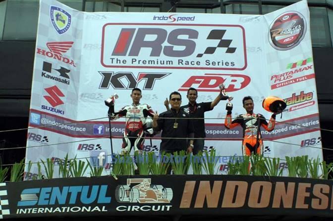 pemenang IRS zport 150 cc seri 1 2014