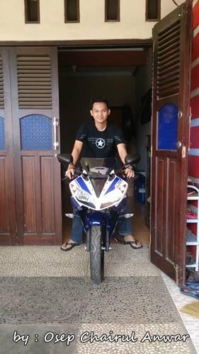 Pemilik Pertama yamaha YZf-R15 di Kuningan Jawa barat 3