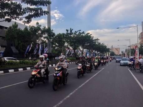 Rolling City Peserta Jambore Honda Blade