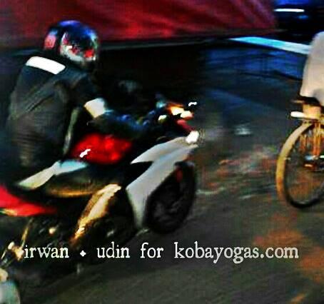 Spyshoot Yamaha YZF-R25 test Jalanan 4