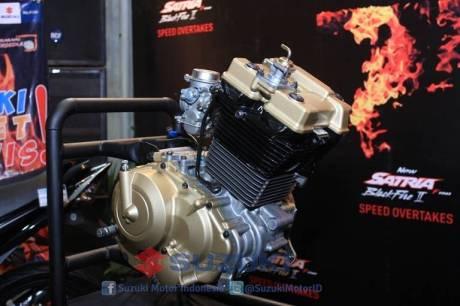 suzuki satria F 150 Black Fire II 16