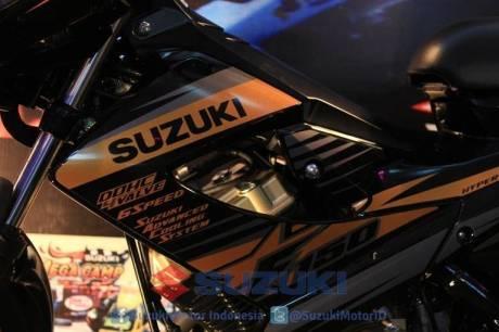 suzuki satria F 150 Black Fire II 17