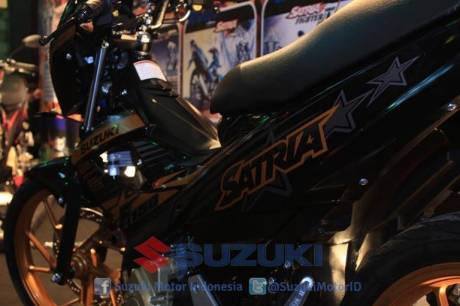suzuki satria F 150 Black Fire II 2