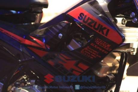suzuki satria F 150 Black Fire II 4