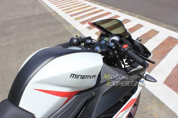 testride Minerva RX-150 di sentul tembus 128 Km.jam 5