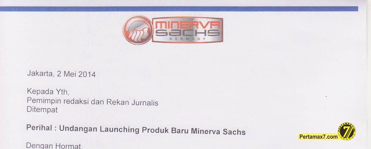 undangan new product minerva RX150