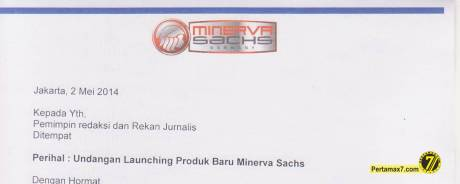 undangan new product minerva RX150