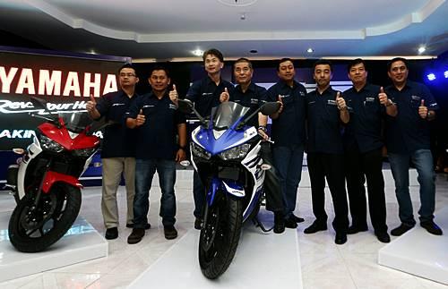 Yamaha YZF-R25 resmi di Launching di Indonesia 1