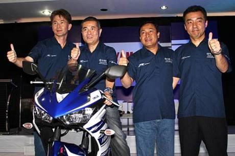 Yamaha YZF-R25 resmi di Launching di Indonesia 2