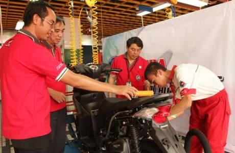 745 Siswa SMK se-Indonesia Ikuti Uji Ketrampilan Teknik AHM 3