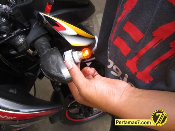 ganti Bohlam Sein Honda New megapro 1