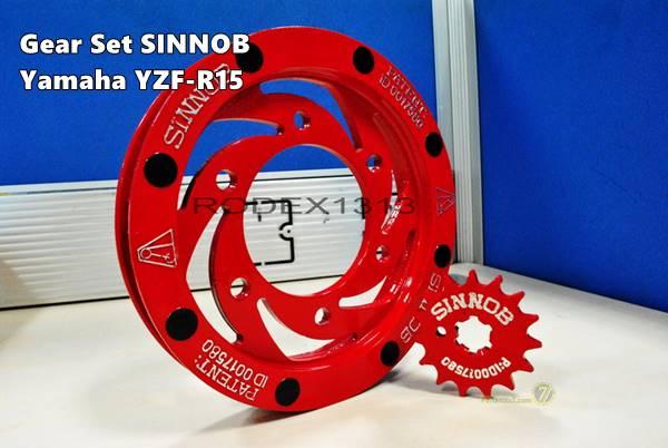 Gear Sinnob Yamaha R15 0