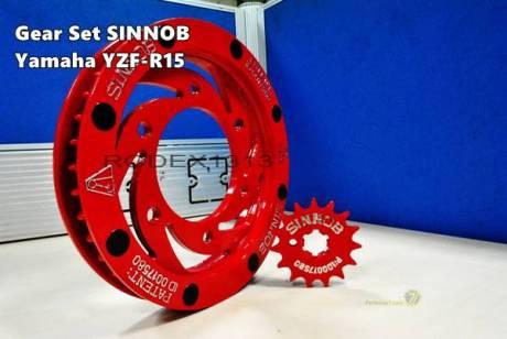 Gear Sinnob Yamaha R15 1
