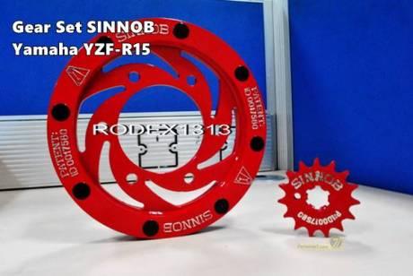 Gear Sinnob Yamaha R15 3