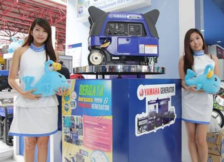 Generator Yamaha Indonesia di Jakarta Fair 2014