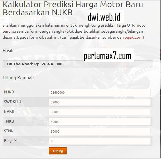 Harga Honda CB150R lokal berdasar NJKB