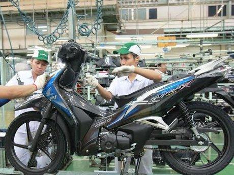 honda supra x 125 helm in pgmfi facelift
