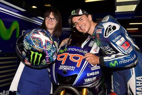 jorge lorenzo 99 new design number