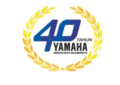Logo 40 Tahun Yamaha