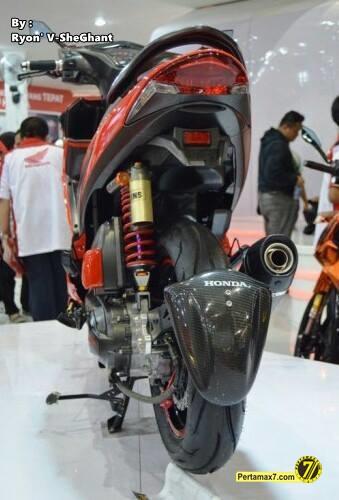 modifikasi Honda Vario 110 Fi  Pekan raya jakarta 2014