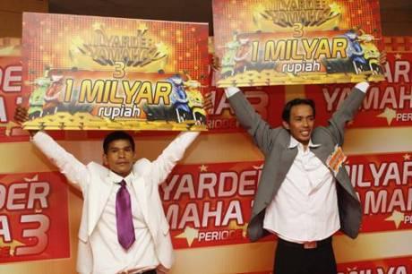 Pemenang Milyarder Yamaha Periode 3 di tahun 2011