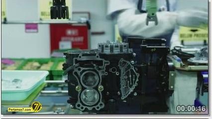 Perakitan Yamaha YZF-R25 di Indonesia Iwata Quality 16