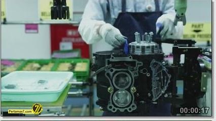 Perakitan Yamaha YZF-R25 di Indonesia Iwata Quality 17