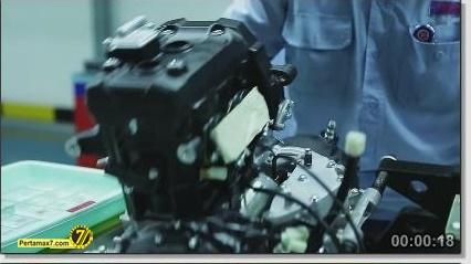 Perakitan Yamaha YZF-R25 di Indonesia Iwata Quality 18