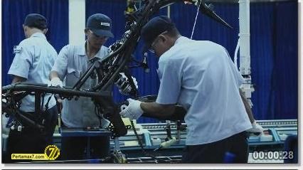 Perakitan Yamaha YZF-R25 di Indonesia Iwata Quality 28