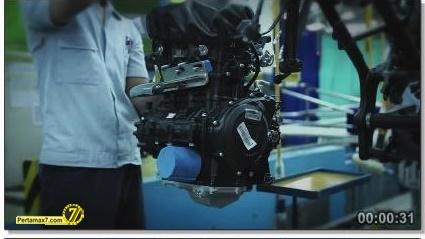 Perakitan Yamaha YZF-R25 di Indonesia Iwata Quality 31