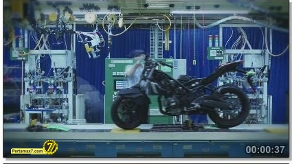 Perakitan Yamaha YZF-R25 di Indonesia Iwata Quality 37