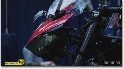 Perakitan Yamaha YZF-R25 di Indonesia Iwata Quality 40