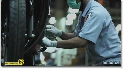 Perakitan Yamaha YZF-R25 di Indonesia Iwata Quality 46