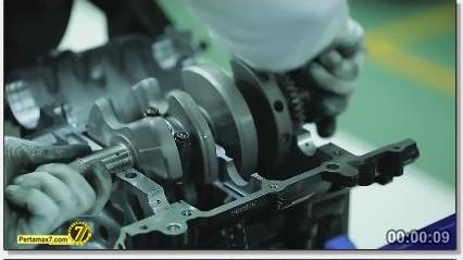 Perakitan Yamaha YZF-R25 di Indonesia Iwata Quality 9