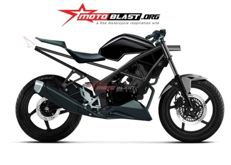 render Honda K45 aka Honda CBR150 Lokal 26