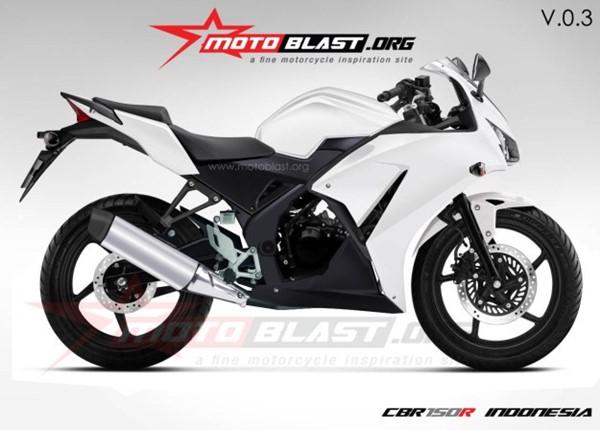 sketsa Honda K45 aka Honda CBR150 Lokal 5