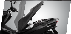 underseat all new honda pcx 150 2015