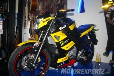 Yamaha New Vixion lightning modip half faiirng yamaha Tech3 5